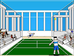 Play Ragdoll Tennis